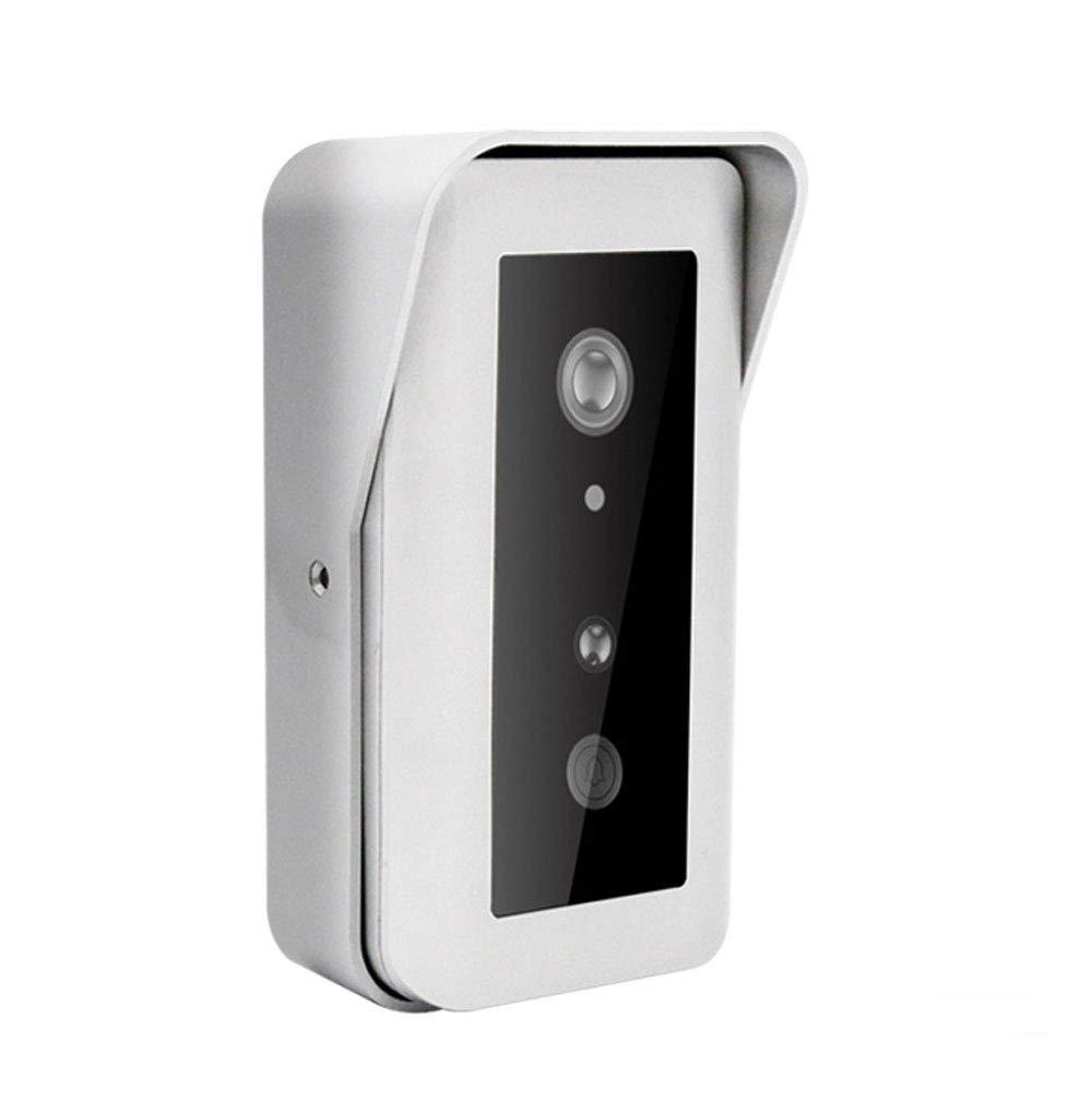 Smart Wireless Wifi Doorbell Elektronische Katze Augen Kamera Security Doorbell 1080 HD-Kamera Für Klares Gespräch,Silver