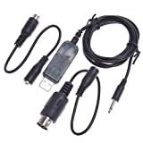 Kingzer Flight Simulator USB FMS Cable Helicopter Transmitter For Futaba JR ESKY US