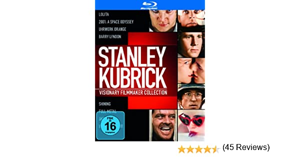 Stanley Kubrick Collection [Alemania] [Blu-ray]: Amazon.es ...