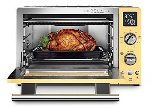 KitchenAid KCO275MY Convection 1800-watt Digital Countertop Oven, 12-Inch, Majestic Yellow - smallkitchenideas.us