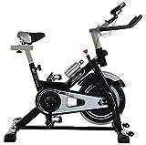IRIS Indoor Cycle Trainer Fitness Spin Bike-12 Kgs Flywheel (Black)