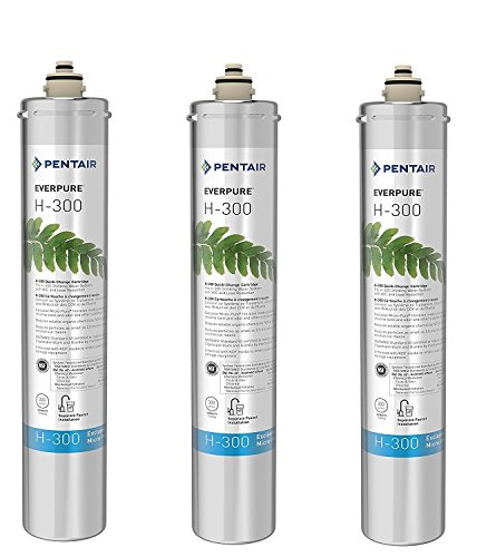 Everpure H-300 Water Filter Replacement Cartridge (EV9270-72 or EV9270-71) (Pack of 3) by Everpure