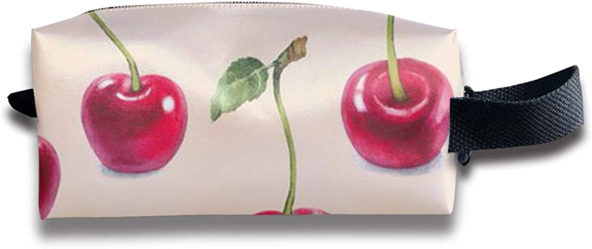 Novelty Colorful Cherry Portable Evening Bags Clutch Pouch Purse Handbags Cell Phone Wrist Handbags For Womens