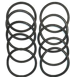 Eureka / Sanitaire Upright Round Vacuum Belts 10 Pack