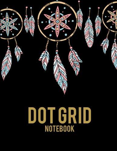 Dot Grid Notebook: Art Dream Catcher, 8.5