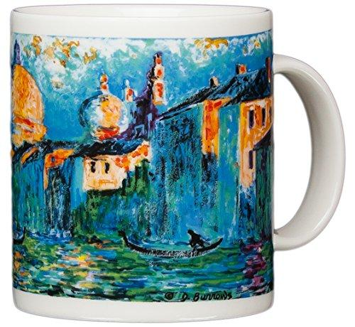 Claude Monet - The Grand Canal - 14oz Coffee Mug