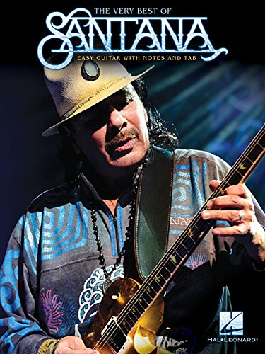 The Very Best of Santana (Easy Guitar With Notes and Tab) (Santana Tab Guitar)