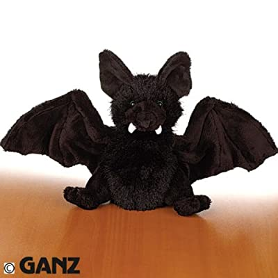 Webkinz Plush Stuffed Animal Black Bat by Ganz