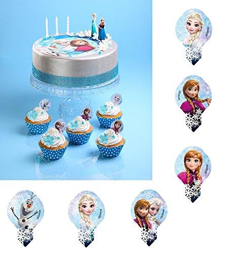 181 Pic Azyme Frozen Reine des Neiges MOD Cupcake Gateau biscuit ALEATOIRE