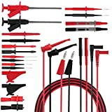 Micsoa Electrical Test Leads, Automotive Test Leads Set with Alligator Clips Professional Digital Multimeter Leads Accessories