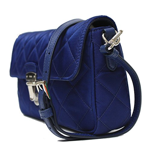 7c1e76320605 Prada Tessuto Impuntu Pattina Quilted Nylon Shoulder Bag BT1025 ...