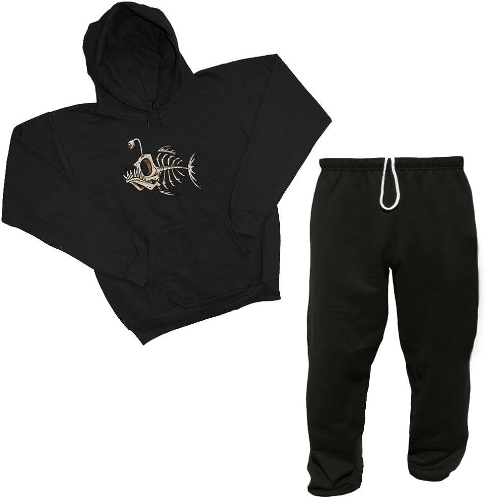 Fish Bones Sweatshirt Sweatpants Set