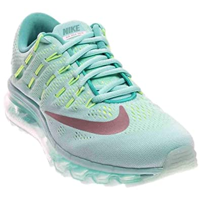 the best attitude 749cc 5de46 807237-300 GRADE SCHOOL AIR MAX 2016 GS NIKE HYPER TURQ REFLECT SILVER  HYPER TURQUOISE REFLECT SILVER-CLEAR JADE 6.5 M US Big Kid  Amazon.in   Shoes   ...