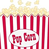Hollywood/Movie Night Theme Party - Popcorn Beverage Napkins x 16