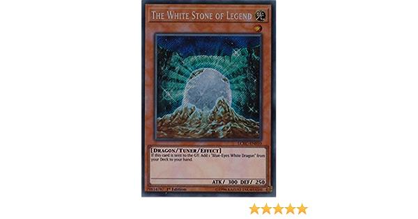 Der Weiße Stein Der Legende LCKC-DE010 Near Mint Secret Rare 1st! YUGIOH!