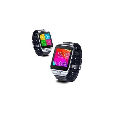 Indigi® SWAP2 GSM Bluetooth inalámbrico reloj inteligente teléfono MP3 Cámara espía [at & T