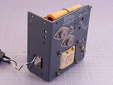 New Lambda Electronics LOS-W-28 Regulated Power Supply w// Manual