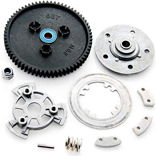 Traxxas E-Maxx Brushless * SLIPPER CLUTCH, DISC, PLATE, PADS & 68T SPUR GEAR * ()