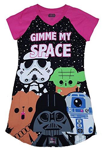 Star Wars Gimme My Space Nightgown Long Sleep Shirt – L/XL