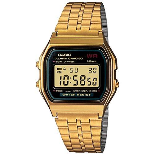 Casio Classic A159WGEA-1VT Men's Watch (Gold)