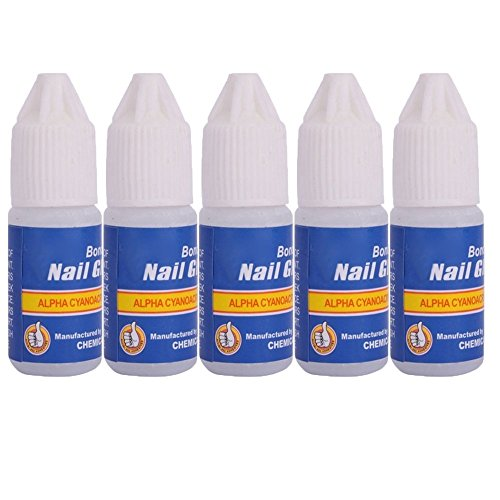 Nail glue for rhinestones amazon city 5 pcs professional 3gbottle acrylic nail art glue tips rhinestones manicure tools prinsesfo Choice Image