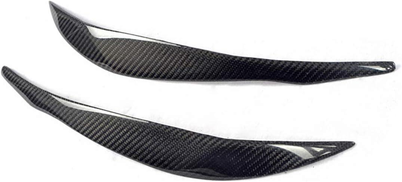 Sport Real Carbon Fiber Headlight EyeLid Cover for BMW 3 Series F30 Fandixin F30 Eyebrow