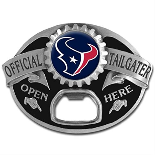 [NFL Houston Texans Tailgater Buckle] (Fan Belt Buckle)