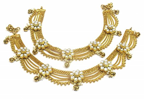 Jewelshingar Jewellery Exclusive Payal /Anklet /Pajeb For Girls ( 33192-payal ) by Jewelshingar