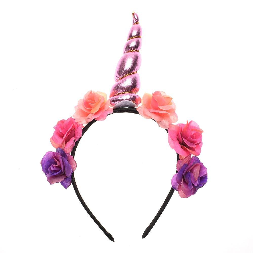 Magische Einhorn Horn Kopf Party Kid Haar Stirnband Kostüm Cosplay