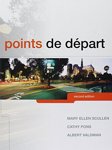 French 2 Student Activities (Points de départ, Student Activity Manual, and MyLab French with eText and Access Card (2nd Edition))