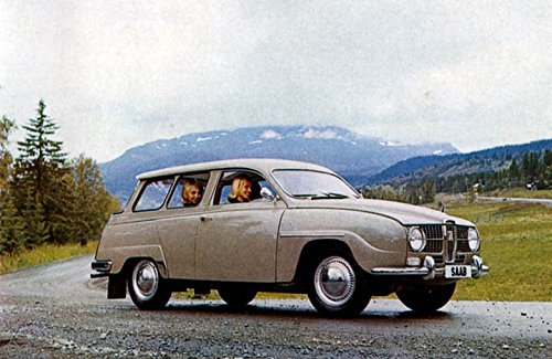 Used, 1965 Saab 95 Station Wagon Factory Photo for sale  Delivered anywhere in USA