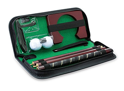 Golf Putter Set (KOVOT Portable Golf Putting Travel Set - Great for Office Use)