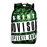 Durable Backpack for High School,MeiLiio Durable Great High School Bag, College Backpack Printing Fashion 3D Bags Individuality Zipper Backpacks for Girls Women Boys Men Travel Bags