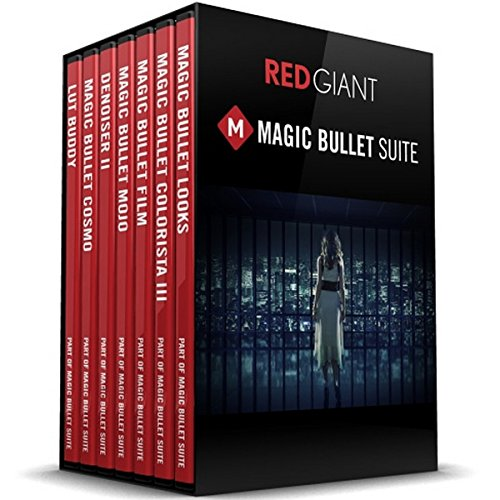 Price comparison product image Red Giant Magic Bullet Suite Academic | Color Correction Finishing Film Looks Filmmakers Software Suite Academic Electronic Delivery