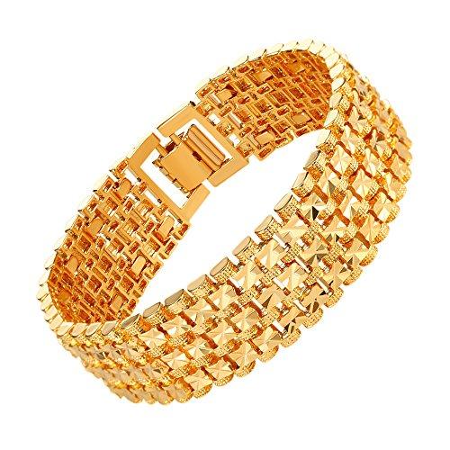 U7 Plated Bracelet Classic Curving
