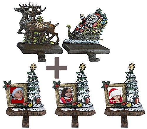 Frame Christmas Stocking Holder - 2