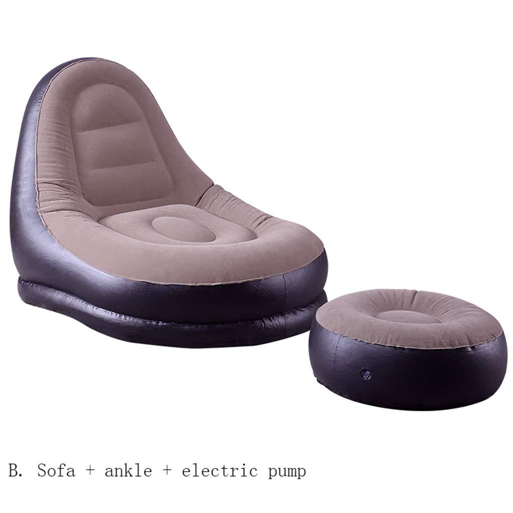袋の袋の椅子屋内屋外の子供の大人のゲームの椅子の庭のインフレータブル防水 (サイズ さいず : B) B07HDKQ83G  B