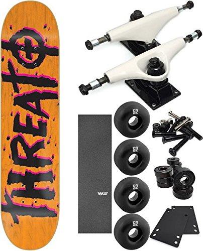 【高い素材】 脅威スケートボードストリートTrashスケートボード7.625 B06XC1M6PH – X 31.25」Complete Skateboard – 7項目のバンドル 7項目のバンドル B06XC1M6PH, 熊本椎茸:8b042a8d --- a0267596.xsph.ru