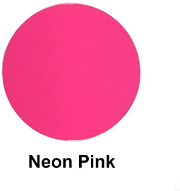"Neon Pink Thermoflex Plus 15/"" by 5 Feet Heat Transfer Vinyl"