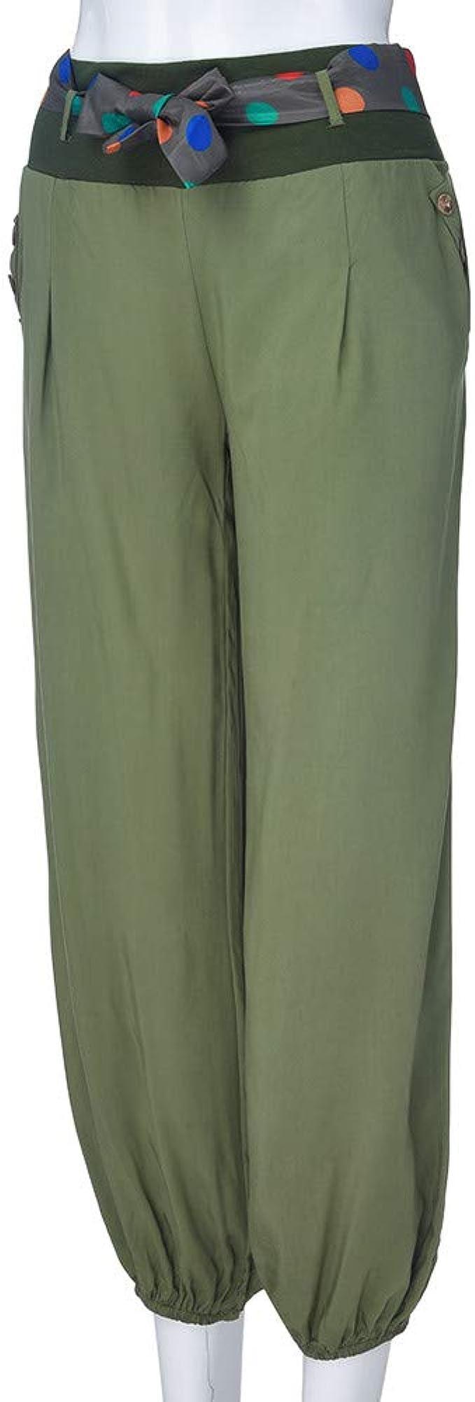 Creazrise - Pantalones de chándal para Mujer, Cintura Baja, Estilo ...