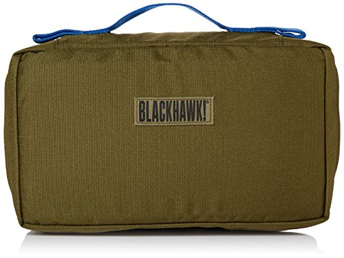 BLACKHAWK! S.T.O.M.P. Medical Pack Accessory Pouch with Blue Handle - Olive Drab