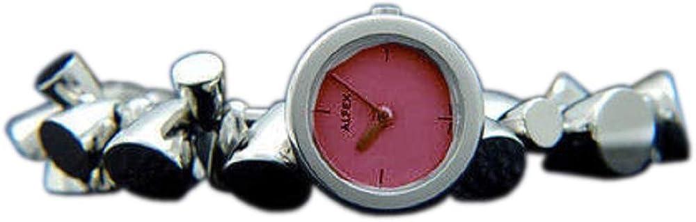 ALFEX 5528 - Reloj de Pulsera analógico para Mujer con Mecanismo de Cuarzo y Correa de Acero Inoxidable