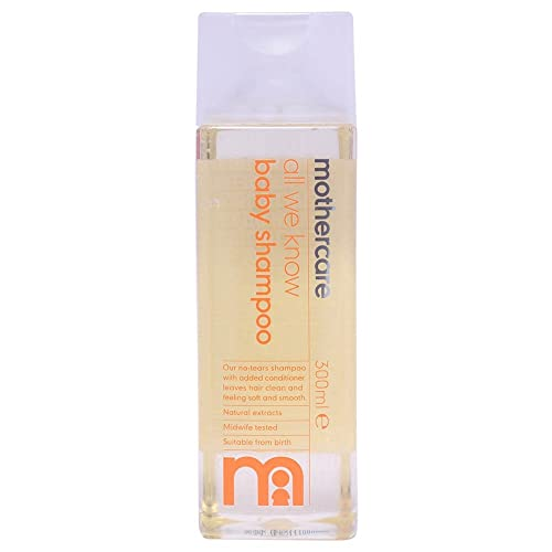 Mothercare All We Know Baby Shampoo, 300ml