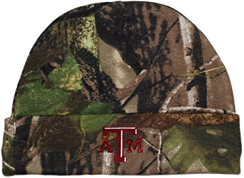 - Texas AandM Aggies Realtree Camo Newborn Knit Cap Realtree Camo One Size
