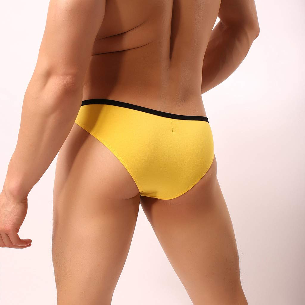 JAMZER Hot Sale Men in Jockstraps Modal Soft Bulge Pouch G Strings Bikini Briefs Thongs