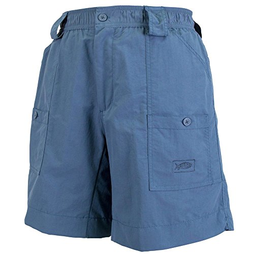 AFTCO Bluewater M01L Long Traditional Fishing Shorts - Ocean - - Bluewater Boots