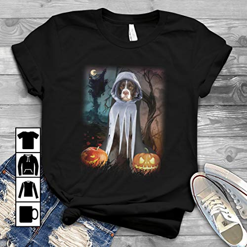 Halloween Border Collie T Shirt Long Sleeve Sweatshirt Hoodie Youth]()