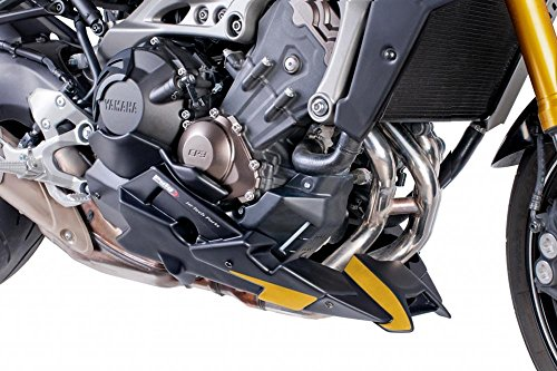 Belly pan Puig Yamaha MT-09 Tracer 15-17 carbon look for Akrapovic (Belly Pan)