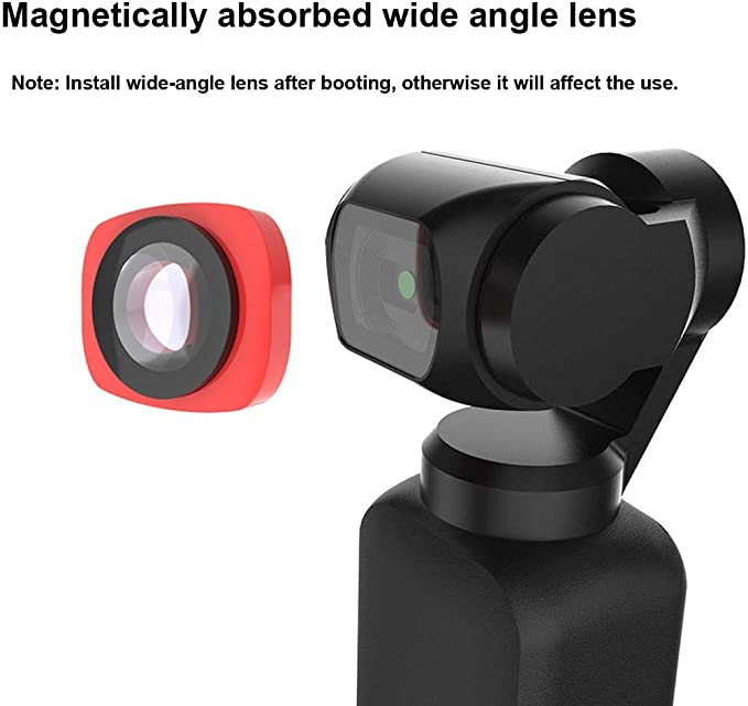Meijunter ND4 Lens for DJI Osmo Pocket MRC Protection Waterproof Anti Scratch Magnetic Lens Quick Swapping Camera Filter