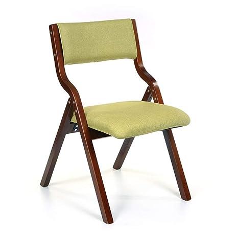 AGWa Silla plegable portable de la silla plegable de madera ...